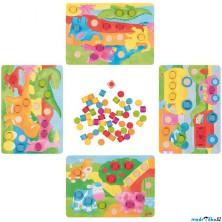 Společenská hra - Kostková hra barvičky II (Goki)