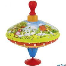 Plechová hračka - Káča 18,5cm, Husopaska (Goki)