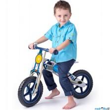 Odrážedlo - Kolo odrážecí, Motorka modrá (Woody)