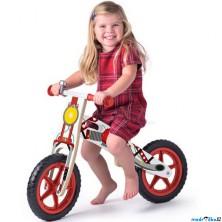 Odrážedlo - Kolo odrážecí, Motorka červená (Woody)