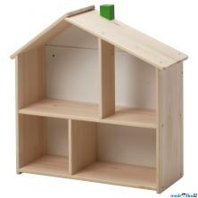 Domeček pro panenky - Policový FLISAT (Ikea)