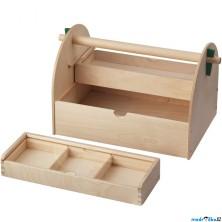 Kreslení - Box na výtvarné potřeby LUSTIGT (Ikea)