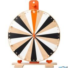 Společenská hra - Dřevěné kolo štěstí LUSTIGT (Ikea)
