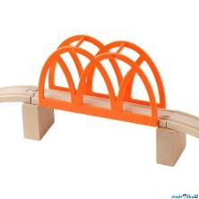 Vláčkodráha mosty - Oranžový most s nadjezdy LILLABO (Ikea)