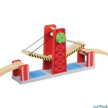 Vláčkodráha mosty - Dvojitý zvedací most (Maxim)
