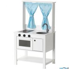 Kuchyň - Dětská kuchyňka, divadlo se závěsy SPISIG (Ikea)