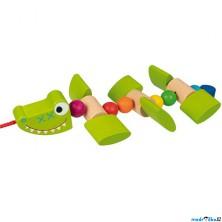 Tahací hračka - Krokodýl usměvavý (Goki)