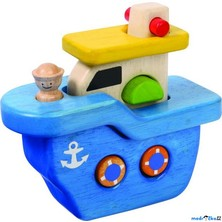 Skládací hračka - Dřevěná loď skládačka (Voila)