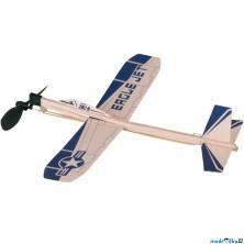 Letadlo házecí - Eagle Jet na gumičku (Goki)