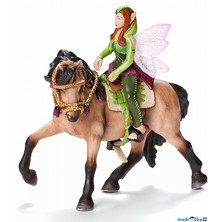 Schleich - Jezdecká souprava pro elfy, Lesní elf