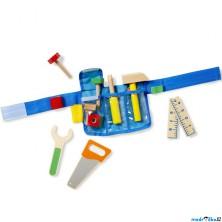 Malý kutil - Dětské dřevěné nářadí s opaskem (M&D)