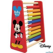 Počítadlo - Velké dřevěné Mickey (Disney Derrson)