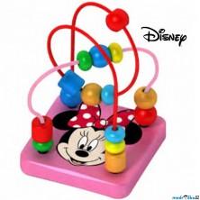 Motorický labyrint drátěný malý - Minnie (Disney Derrson)