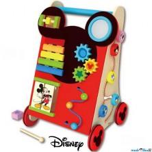 Chodítko dřevěné - Motorický set, Mickey (Disney Derrson)