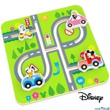 Motorický labyrint - Mickeyho svět dřevěný (Disney Derrson)