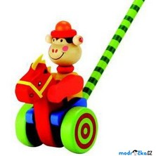 Jezdík na tyči - Opička (Bino)