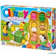 Clementoni - Clemmy, Veselá farma a barevné kostky