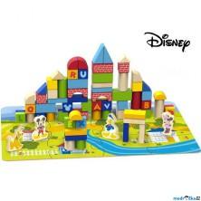 Kostky - Barevné v kyblíku, Vhazovačka, 92ks (Disney Derrson)