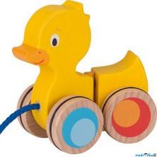 Tahací hračka - Kačenka ohebná dřevěná (Goki)