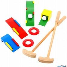 Golf - Dětský, Dřevěná golfová sada (Bigjigs)