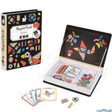 Puzzle magnetické - Kniha, Moduloform (Janod)