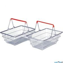 Prodejna - Nákupní košík, 2ks (Bigjigs)