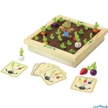 Pexeso - Sklízení zahrádky dřevěná hra (Vilac)