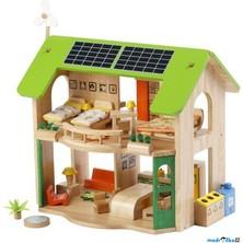Domeček pro panenky - EKO + nábytek (Voila)