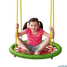 Houpačka - Houpací kruh, zelený, průměr 83cm (Woody)