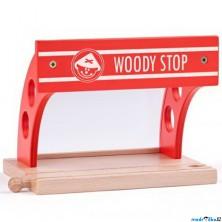 Vláčkodráha zastávky - Vlaková zastávka (Woody)