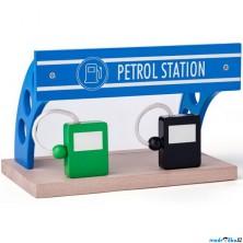 Vláčkodráha budovy - Čerpací stanice (Woody)