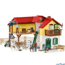 Schleich - Farma, Velký dům se stájí a zvířaty