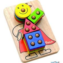 Skládačka - Skládací klaun na tyčkách (Voila)
