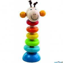 Hračka pro batolata - Žirafa na gumě (Detoa)
