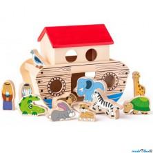 Noemova archa - Dřevěná se zvířátky (Woody)