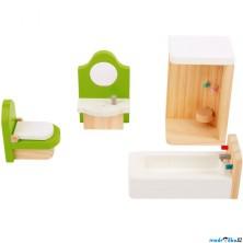 Nábytek pro panenky - Koupelna dřevěná (Legler)