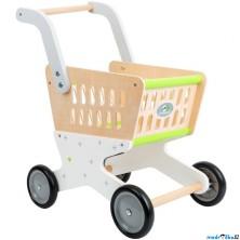 Prodejna - Nákupní vozík, Dřevěný Trend (Legler)