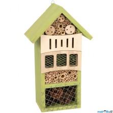 Zkoumání zvířátek - Hmyzí domeček - hotel, Zelený (Legler)