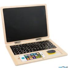 Magnetická tabule - Dřevěný notebook (Legler)