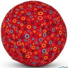 BubaBloon - Látkový nafukovací míč, Červený