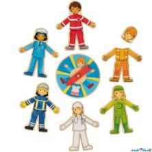 Puzzle pro nejmenší - Povolání, první hra pro děti (Goki)
