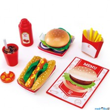 Kuchyň - Fast Food Set (Hape)