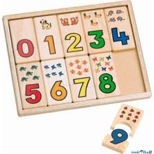 Puzzle výukové - Dřevěné počítací destičky (Voila)