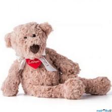Lumpin - Medvěd Lumpin s mašlí, střední, 43cm