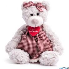 Lumpin - Medvědice Sára v šatech, malá, 28cm