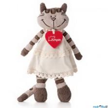Lumpin - Kočka Angelique v šatech, malá, 23cm