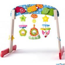 Hrazdička - Dřevěná hrazda pro miminka (Niny)
