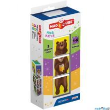 Geomag - Magicube, Animals 3 kostky