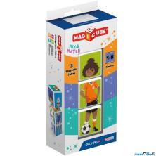 Geomag - Magicube, Sports 3 kostky
