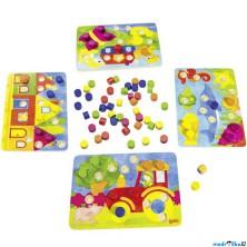 Společenská hra - Kostková hra barvičky (Goki)